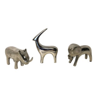 Modernist Animal Figures - Set of 3