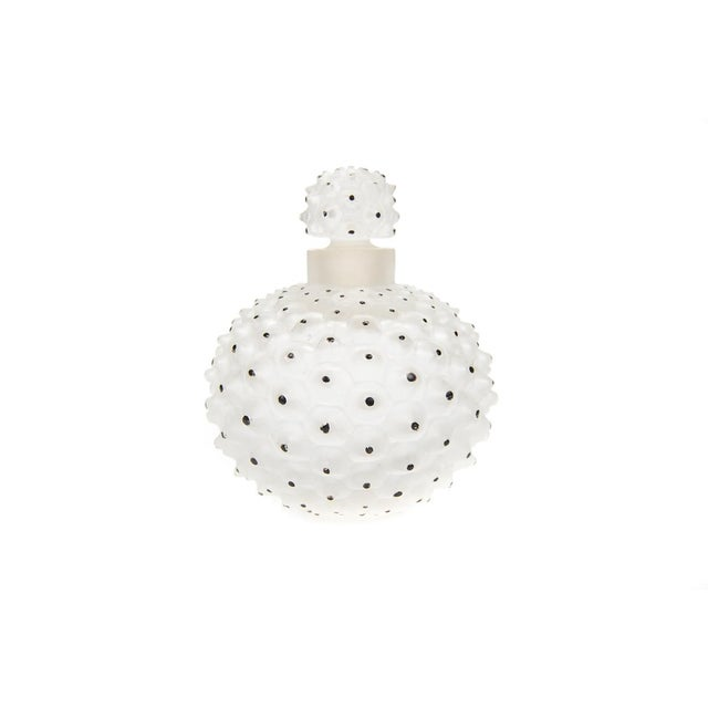 "Image of Lalique ""Cactus"" Art Glass Perfume Bottle"