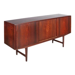 Rosewood Danish Sideboard by E.W. Bach