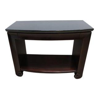 Henredon Granite Top Side Table