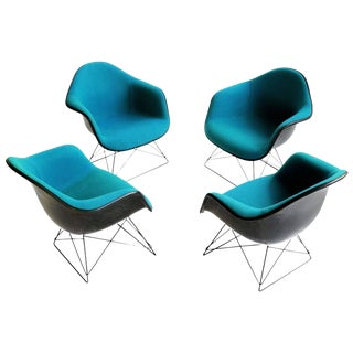 Set of Eames LAR Lounge Chairs
