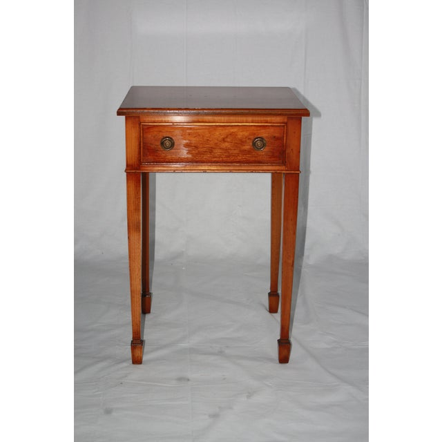 Yorkshire house reproduction 19th century side table for Table th width