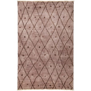 "Vibrance, Hand Knotted Area Rug - 5'10"" X 9'2"""
