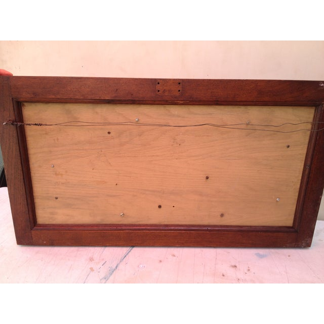 Antique Tools in Reclaimed Wood Shadowbox - Image 9 of 10