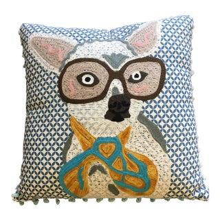 Karma Living Dog With Glasses Pillow
