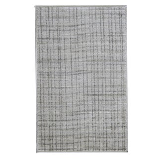 Modern Gray Neutral Small Rug - 2′8″ × 5′