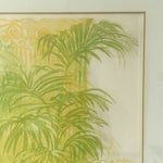 "Image of ""Floridian Gates"" Framed Intaglio Etching"