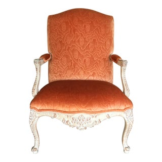 Carved & Painted Louis XV Style Chair