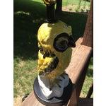 Image of Vintage Italian Bitossi Raymor Owl Lamp