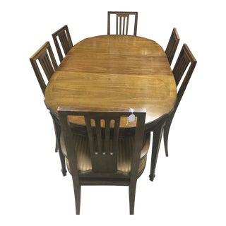 Drexel Dining Room Table & 6 Chairs