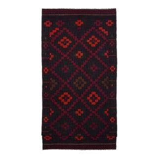 """QASHQAI Vintage Persian Kilim Rug, 9'4"""" x 20'6"""" feet"""