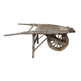 Antique Mongolian Wheel Cart