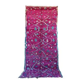 "Vintage Talsint Moroccan Berber Rug - 5'5"" x 13'0"""