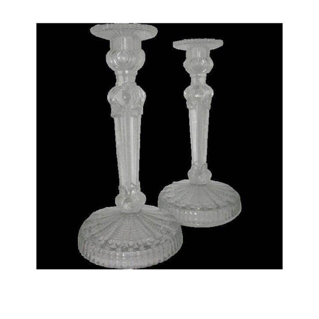 Image of Art Deco Candlesticks - A Pair
