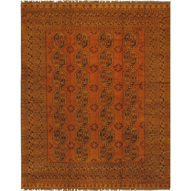 """Pasargad Vintage Yamoud Area Rug - 10' 1"""" X 12' 9"""" - Image 1 of 3"""