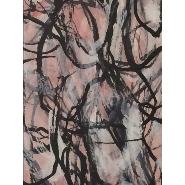 Laura Yang Ink Painting Seashell - Image 4 of 5