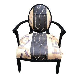Barbara Barry Style Kilim Chair