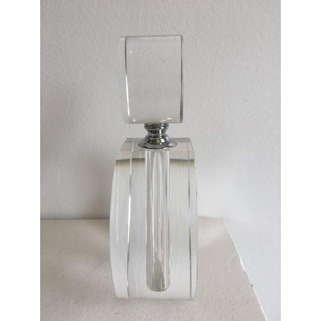 Zodax Modern Crystal Perfume Bottle | Chairish