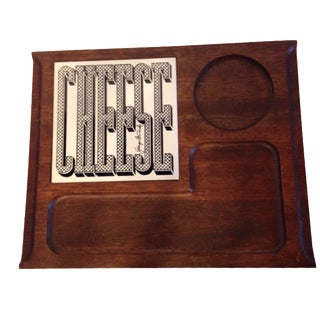 Georges Briard Typographic Cheese Board
