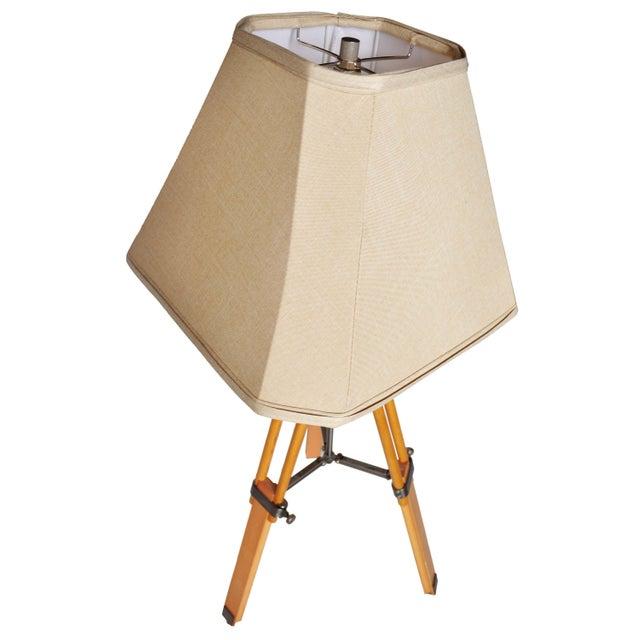 Vintage Adjustable Tri-Pod Lamp - Image 4 of 6