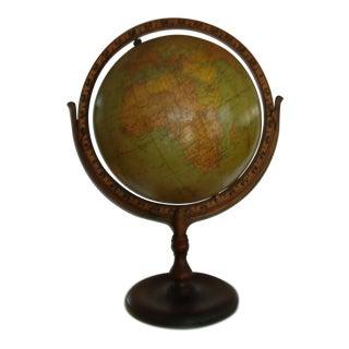 1930s Hammond Terrestrial Globe
