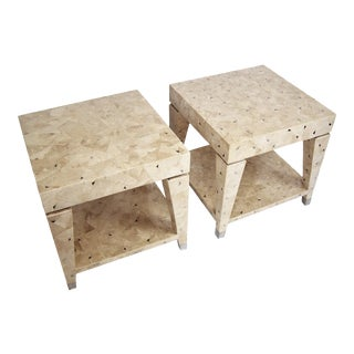 Oggetti Mid-Century Modern End Tables Maitland Smith - Pair