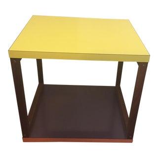 Reversible Mid-Century Side Table