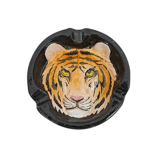 Italian Tiger Ashtray