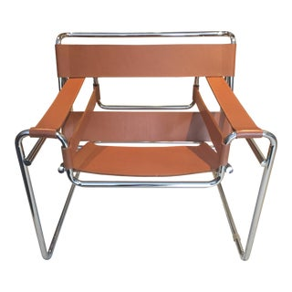 Wassily Chair in Cognac Leather