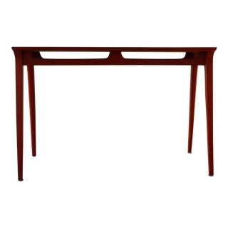 Modern Orange Lacquered Table