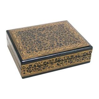 Ocean Blue Kashmiri Jewelry Box