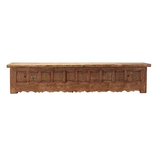 Chinese Vintage XinJiang Low Tv Cabinet Table