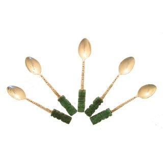 Sterling & Stone Coffee/Dessert Spoons - Set of 5