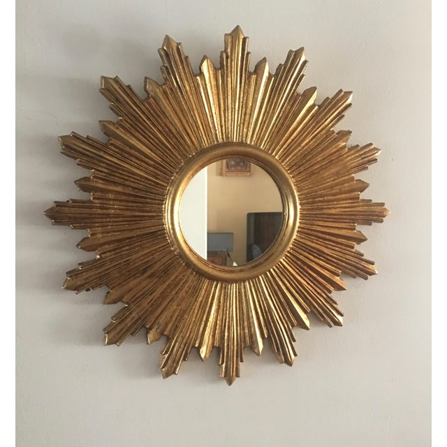 Italian Gilt Sunburst Mirror - Image 2 of 8