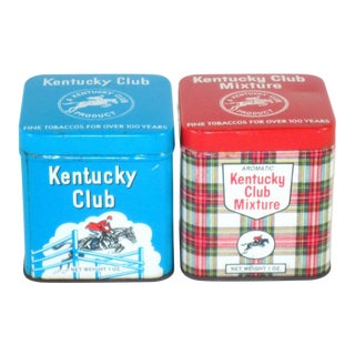Kentucky Club Tins - Set of 2