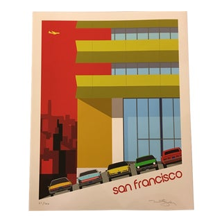 Modernist San Francisco Print by Michael Murphy