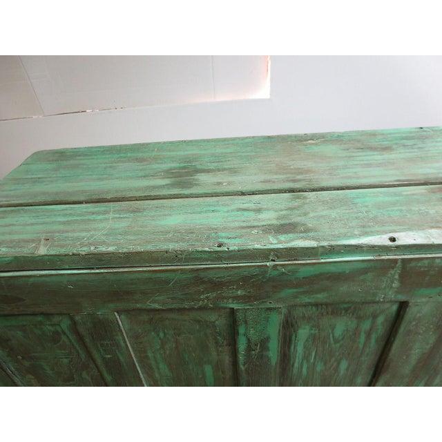 Antique Primitive Wardrobe Cupboard - Image 6 of 6