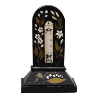 Grand Tour Pietra Dura Marble Thermometer
