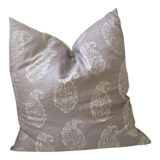 John Robshaw Kashmir Lilac Paisley Pillow Cover