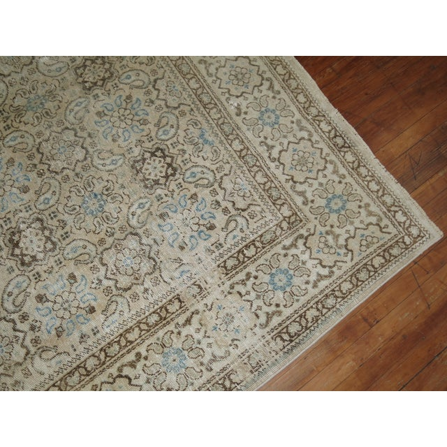 Vintage Shabby Chic Persian Malayer Rug, 8'1'' x 11'8'' - Image 8 of 9