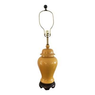 Chinoiserie Hollywood Regency Ginger Jar Lamp