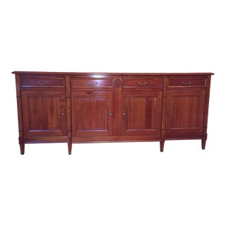 vintage used brown credenzas chairish. Black Bedroom Furniture Sets. Home Design Ideas