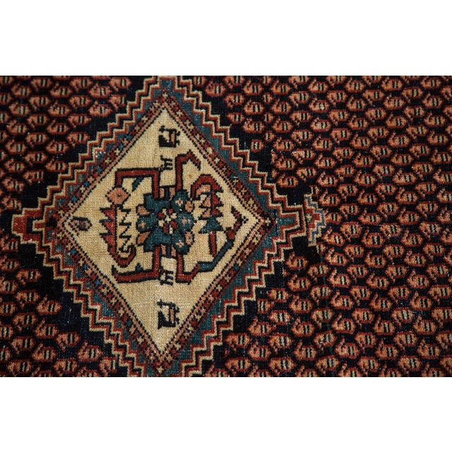 """Vintage Mission Malayer Square Rug - 5'5"""" x 6'7"""" - Image 8 of 10"""