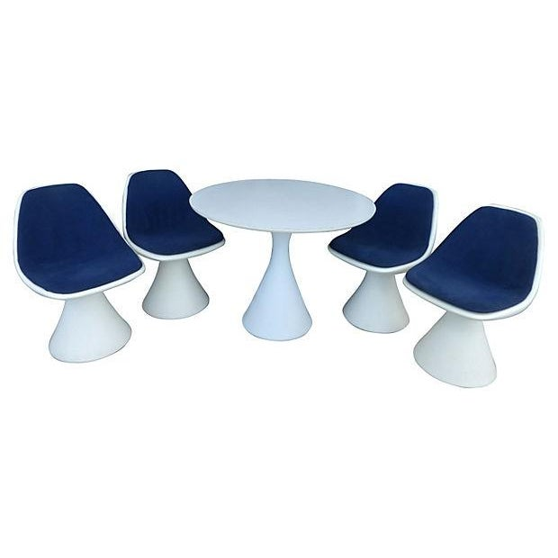 Image of Saarinen Style Formica Dining Set