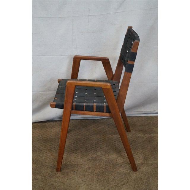 Knoll Studio Jens Risom Mid Century Arm Chair - Image 3 of 10