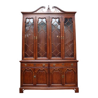 Thomasville Duncan Phyfe Style Hutch
