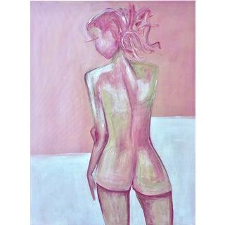 """Rose"" Unconventional Ladies Series Painting"