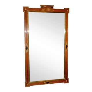RUSSIAN 18TH CENTURY STYLE PIER MIRROR