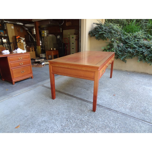 Solid Rosewood Table Desk - Image 5 of 5