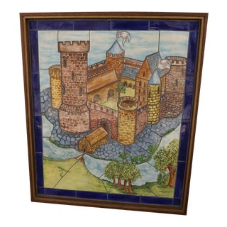 Carden Holland Vintage Handmade Tile Frieze Mosaic